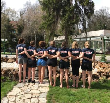Wasserball Damen: Saisonvorbereitung in Serbien