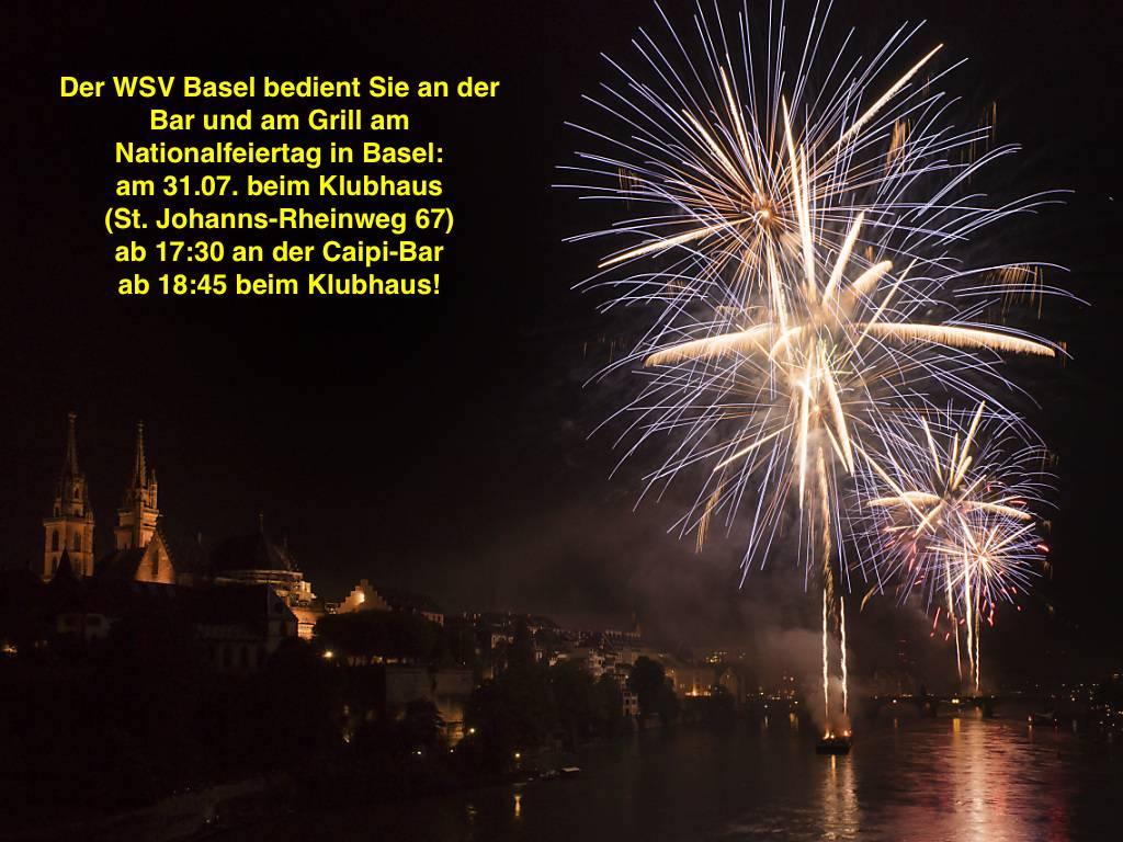 Der WSV Basel am Nationalfeiertag in Basel